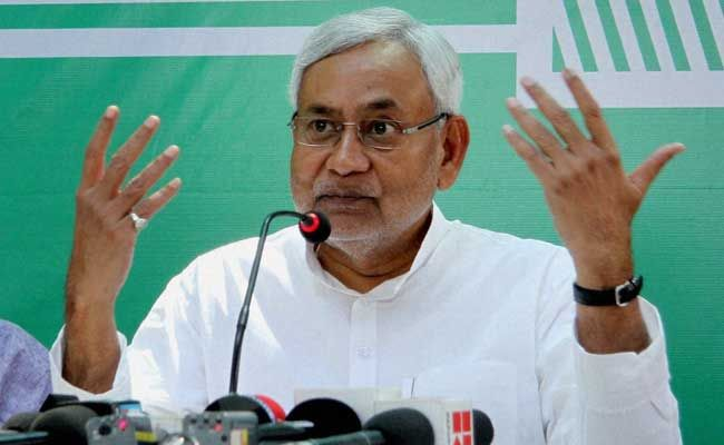 Nitish Kumar Uses Latest Crime Figures, Says There Is 'Mangal Raj' In Bihar