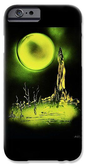 Land Of Rituals IPhone 6 Case Printed with Fine Art spray painting image Land Of Rituals by Nandor Molnar (When you visit the Shop, change the orientation, background color and image size as you wish)