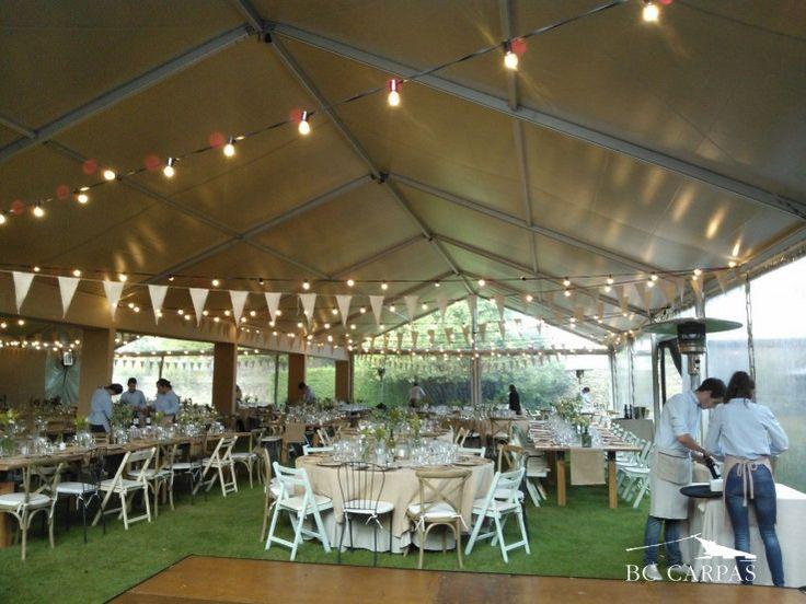 36 best images about bodas con carpa tents for a wedding - Carpas para patios ...