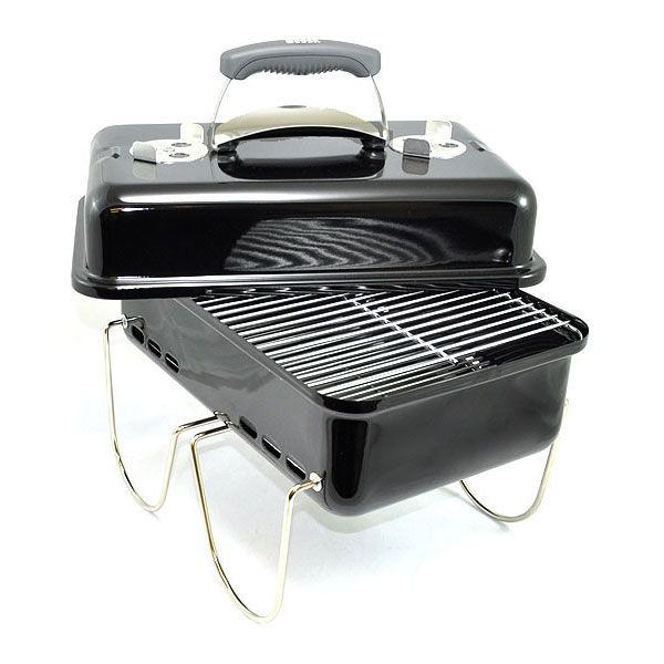 Weber Go Anywhere Portable Charcoal BBQ RRP: £89.99 | Save 15% £76.49