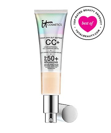Best CC Cream No. 5: It Cosmetics Your Skin But Better Full Coverage CC Cream With SPF 50, $38