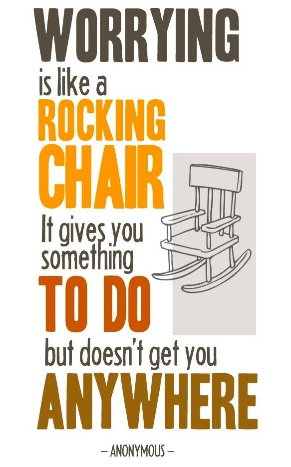 true..: Remember This, Rocks Chairs, Rocking Chairs, Joycemeyer, Truths, Worry, Joyce Meyer, Inspiration Quotes, True Stories
