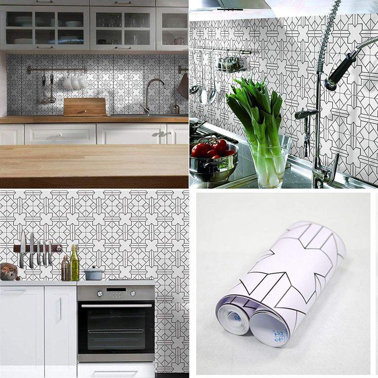 amazon peel and stick backsplash  best tiles