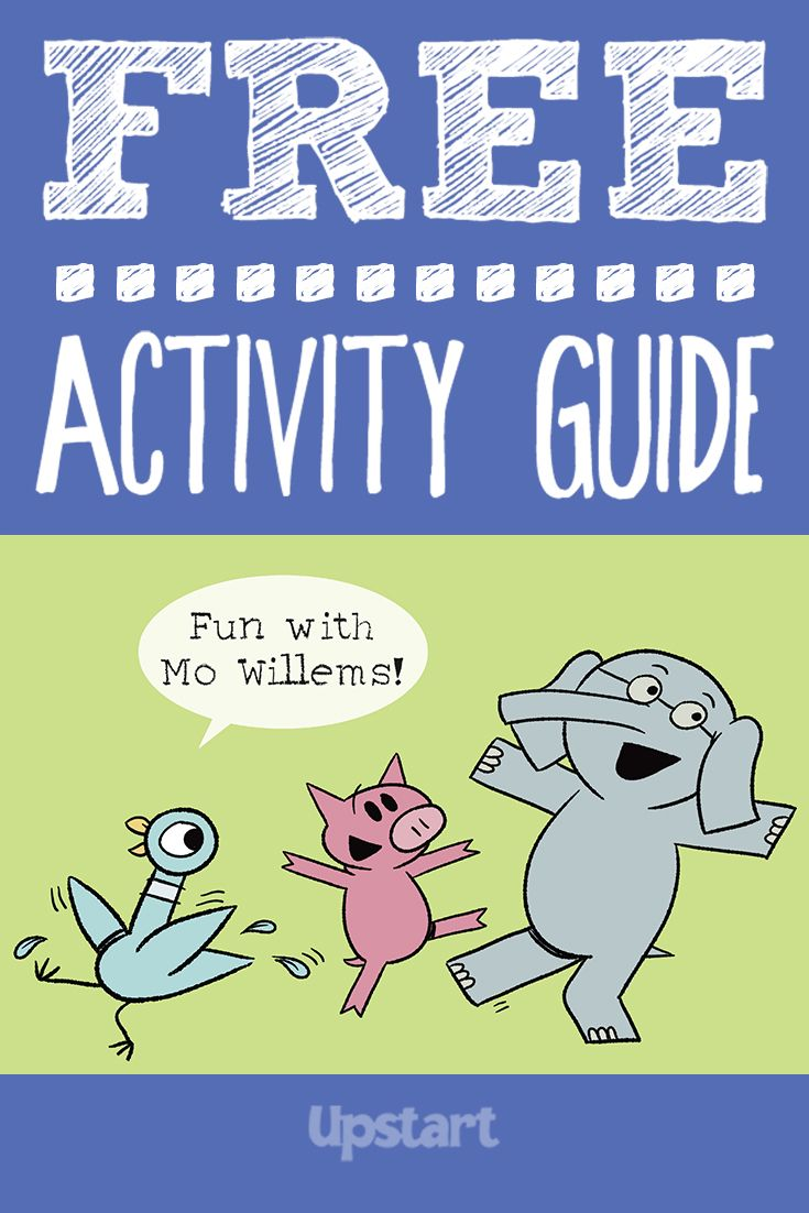 Get ready for fun Mo Willems games, crafts and more — like a cookie toss with…