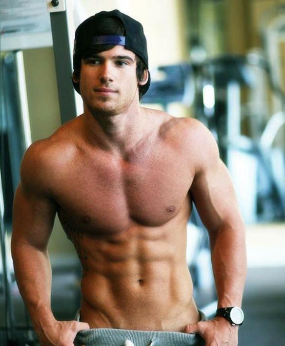 Hot college boy