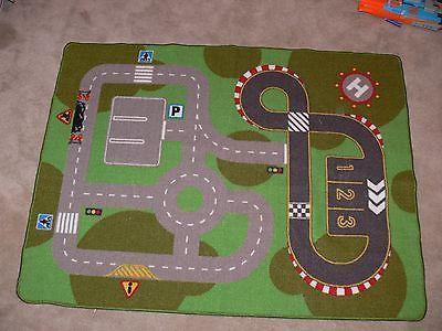 Ikea Lillabo Kids Road City Car Truck Toy Floor Mat Play