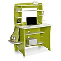 Legare Kids' Desk & Hutch in Green and White   Overstock.com