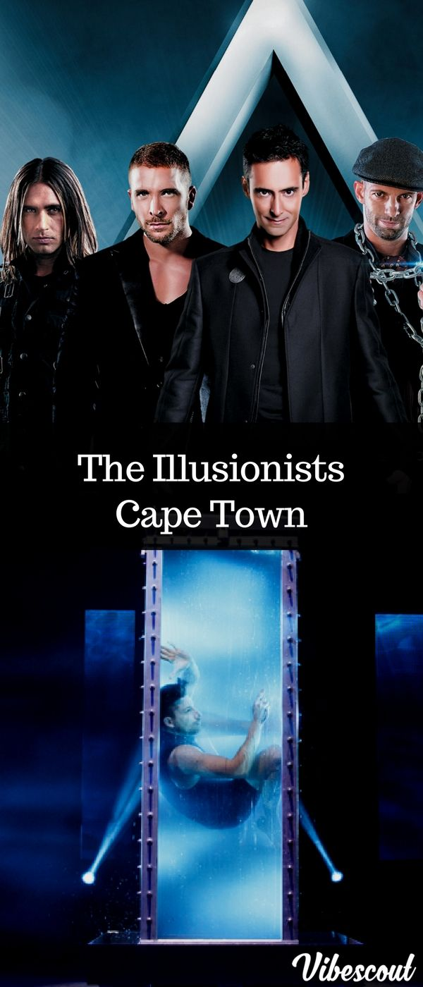 7,8,9,10,11 February 2018. After record breaking runs in New York, London and Asia, The Illusionists 2.0: The Next Generation of Magic will be in South Africa for the first time ever. #capetown #illusionists