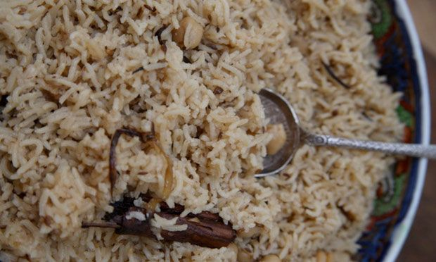 Chickpea pilau rice recipe | Rahila Hussain