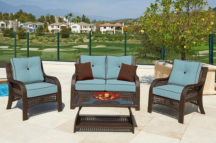 Garden Treasures Patio Furniture Cushions