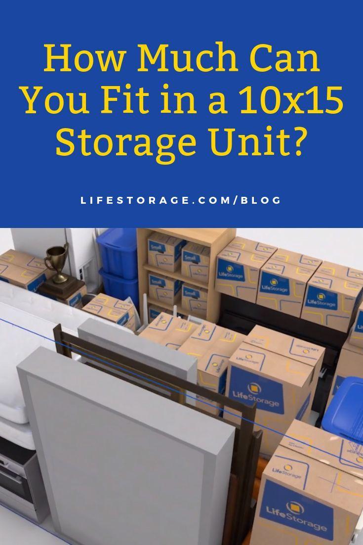 Exactly How Big Is A 10x15 Storage Unit Storage Unit Life Storage The Unit