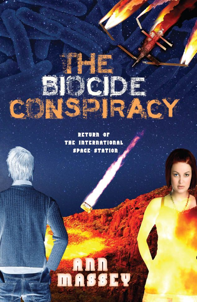 The International Space Station crashing to earth with biological weapons aboard. Mo, a teenage delinquent from the city, and Beth, a girl from the outback, must work together to stop the weapon from falling in the wrong hands. http://www.amazon.com/dp/B004VN31N0