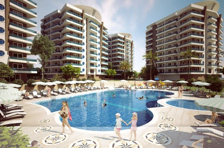 Crown City - Avsallar Alanya Turkey, meet at the place where sun is smiling… An eye-catching project at the most special place in Avsallar. Catch broad angle of the life by buying a house at the CROWN CITY situated at the top of city. .