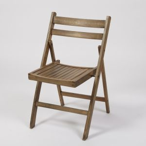 Wooden folding chair distressed finish.    Measurements:H77x W46 x D42cm    More than 600 in stock
