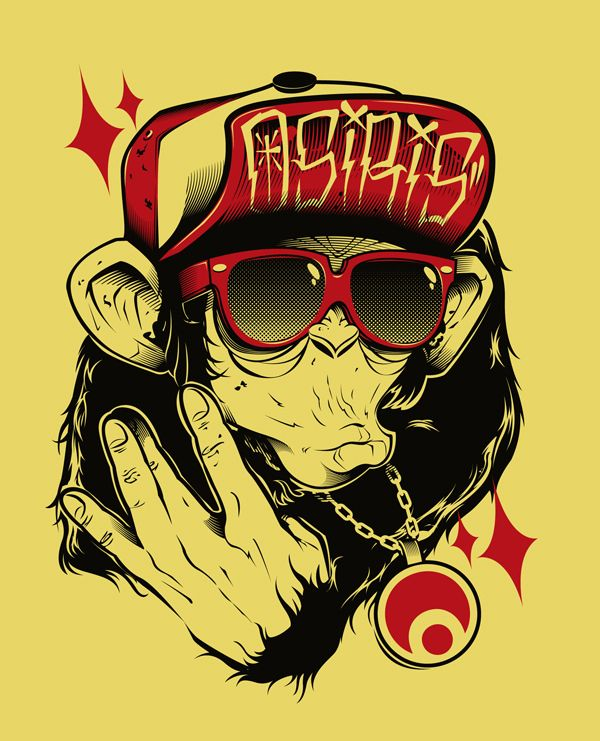 Another batch by Tomer Mor, via Behance
