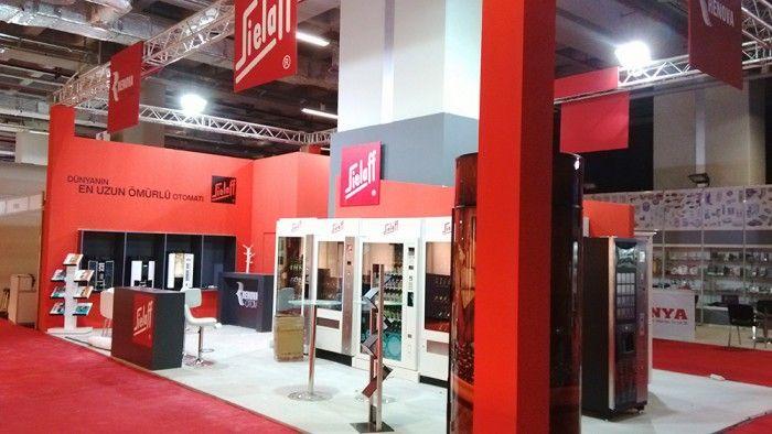 Renova/Sielaff- Anufood Eurasia2015 İstanbul, Exhibition stand.