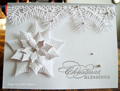 Silver & White Christmas Blessings - Our Little Inspirations