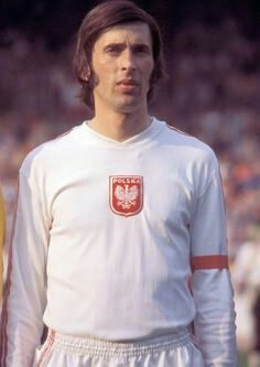 Kazimierz Deyna of Poland at the 1974 World Cup Finals.