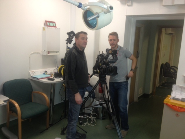 Surgery filming