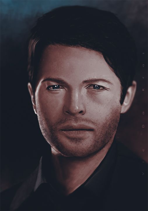 Misha Collins by Vicdakras on DeviantArt