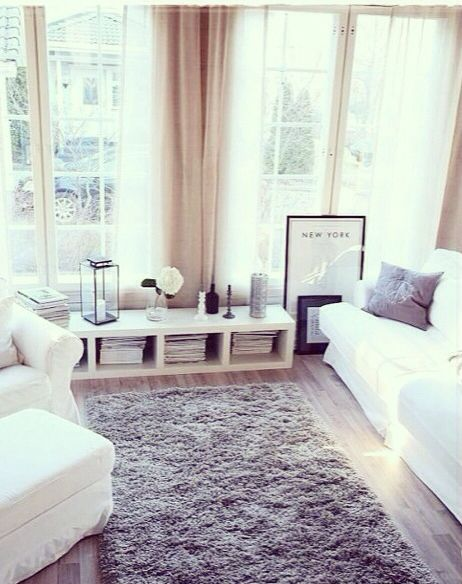 ..beautiful living space, needs some colour #design #cosy