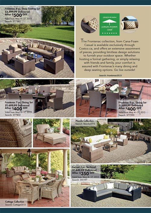Furniture Photography Shown in Costco Online Magazine for May/June 2015... #FurniturePhotography #PatioFurniture #Furniture #Photography #BPimaging [BP imaging - Bochsler Photo Imaging]