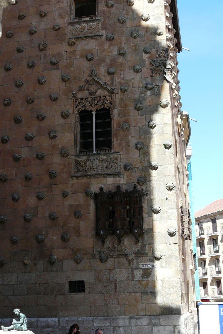 Detalles de Salamanca que Lazarillo hecho #bronce por #Morla pudo conocer
