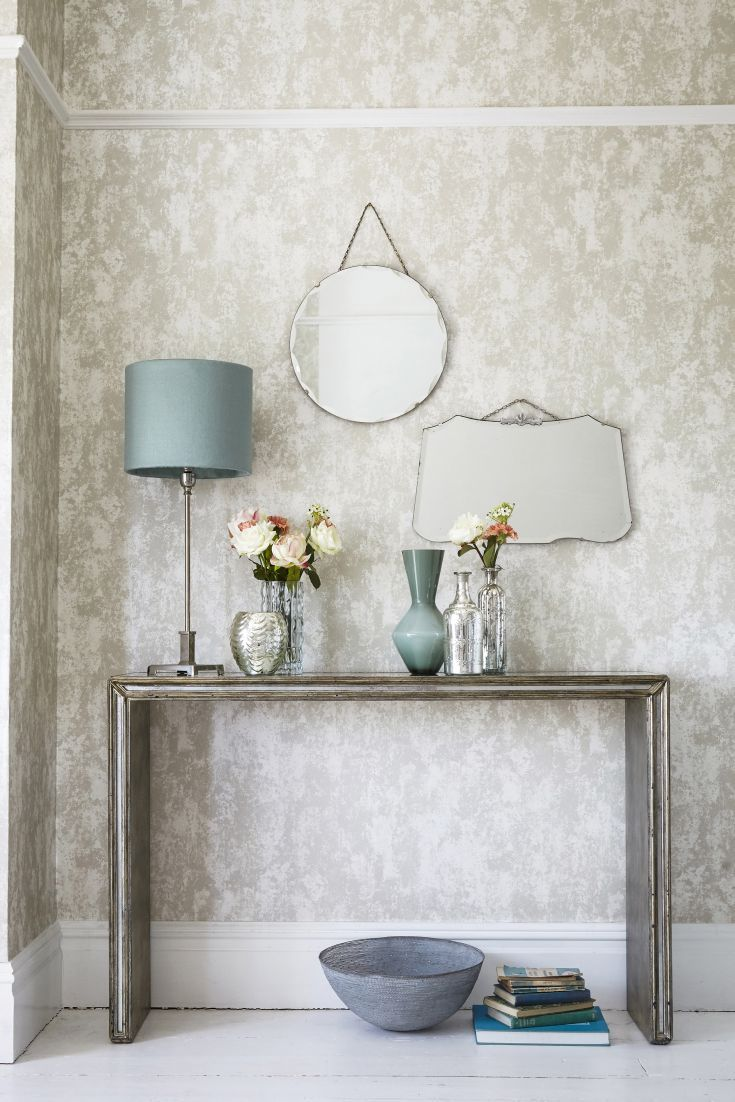 This elegant neutral wallpaper pattern by harlequin has a for Elegant neutral bedrooms