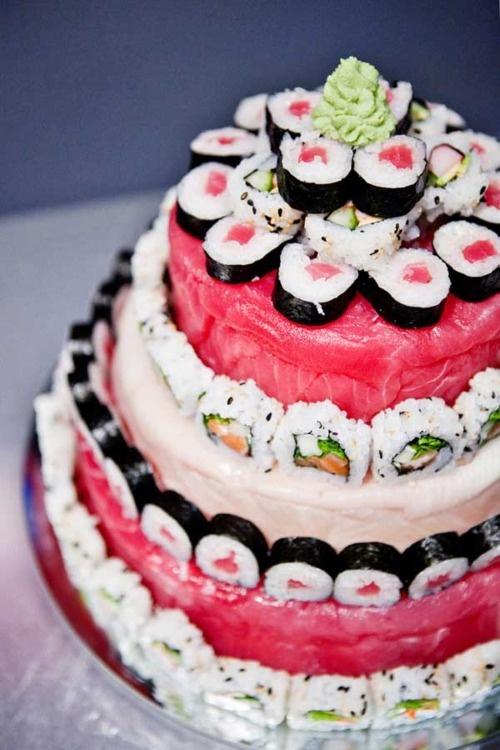 Sushi Cake!!