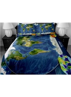 230 best home decor bed images on pinterest cushion covers the world map print 4 piece duvet cover sets gumiabroncs Choice Image