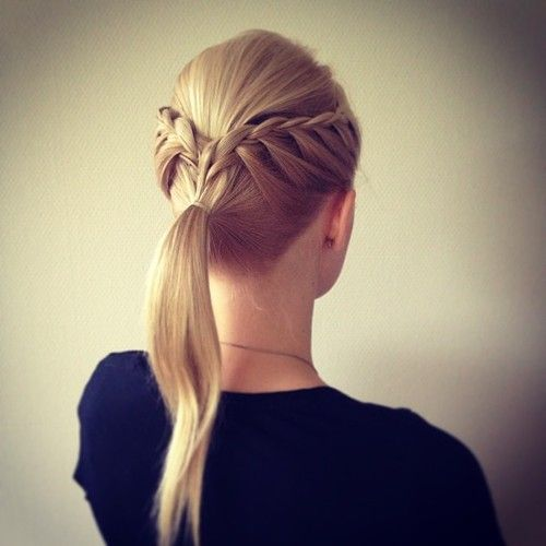 Lace Braided Ponytail :D