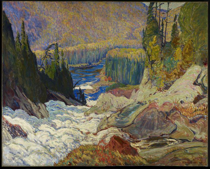 J.E.H. MacDonald | Falls, Montreal River
