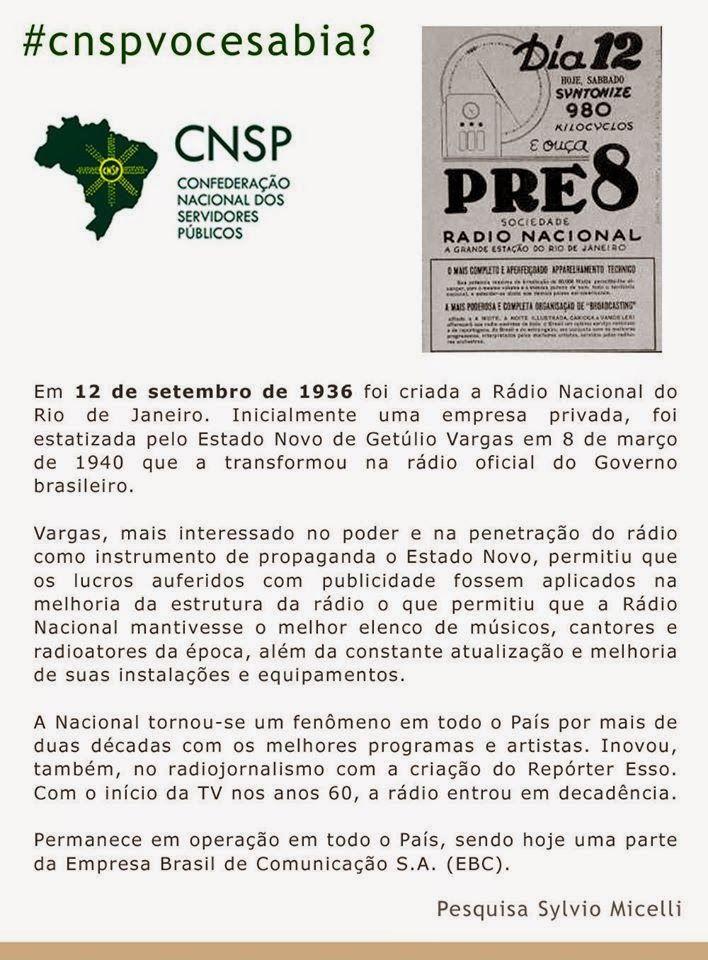 #CNSPNotícias - Você sabia? - 12 de setembro de 2014 - #CNSPvocesabia