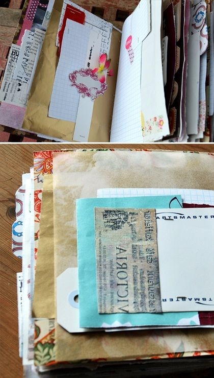 Junk journal lots of great ideas on this blog
