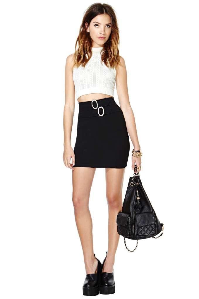 Buckle Up Skirt