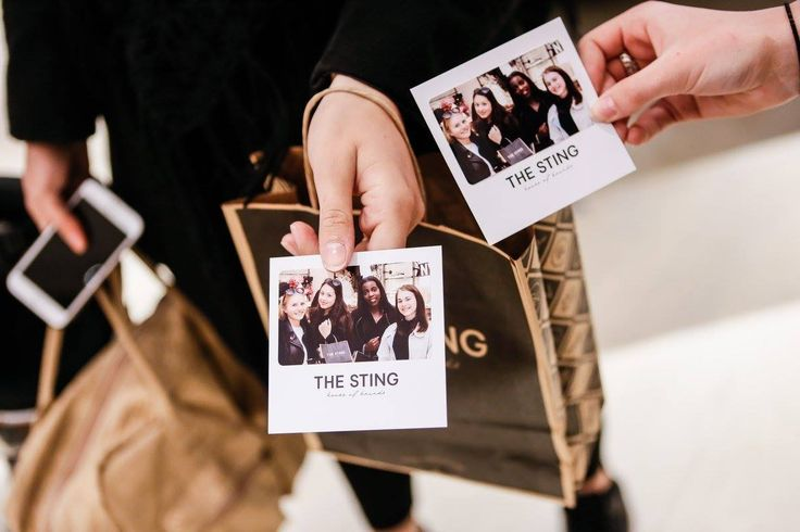 Polaroids at the opening The Sting store Breda!