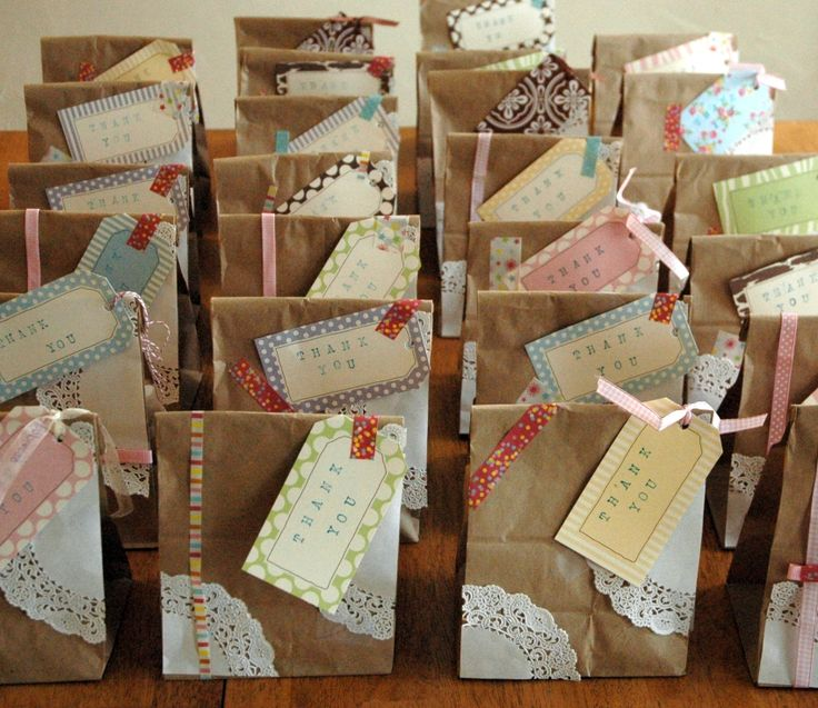 Diy Cheap Party Gift Bags