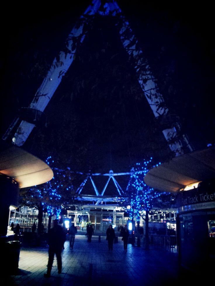 London Eye entrance