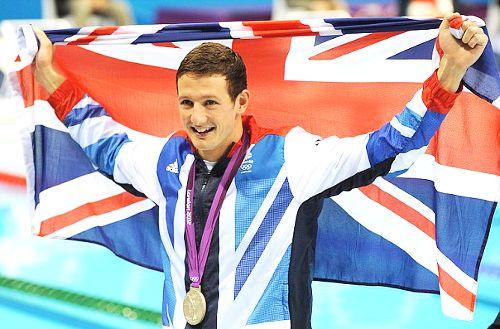 Team GB Medals 2012  09. Michael Jamieson - SILVER  (Swimming: Men's 200m Breastroke)