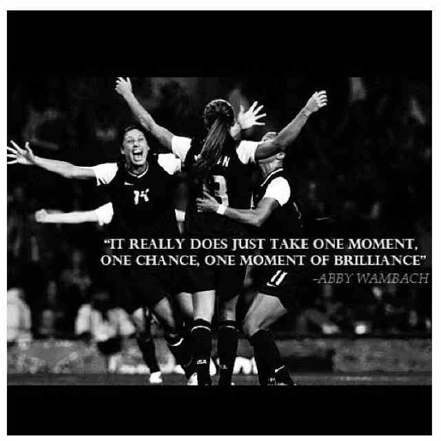 #Soccer #Quotes - Abby Wambach | Soccer Quotes | Pinterest ...