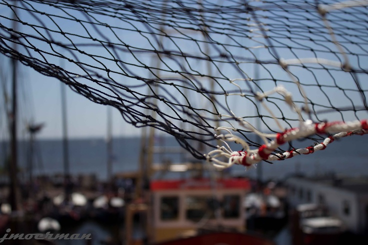 Fishing net - Harbour of Urk (Netherlands)