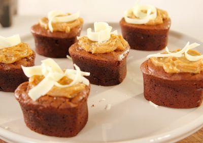 Siba's Peanut Butter Brownies