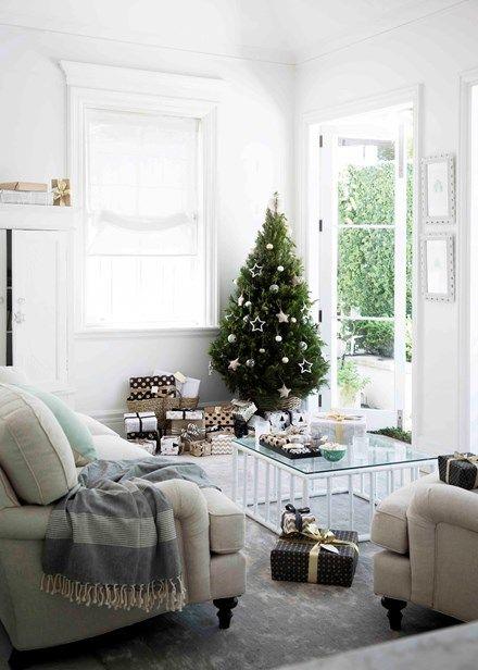 Classic but comfortable lounge | Home Beautiful Magazine Australia