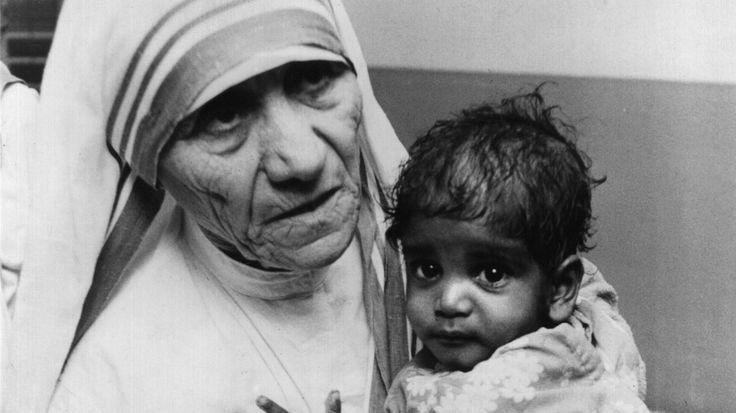 Mutter Teresa Heilig