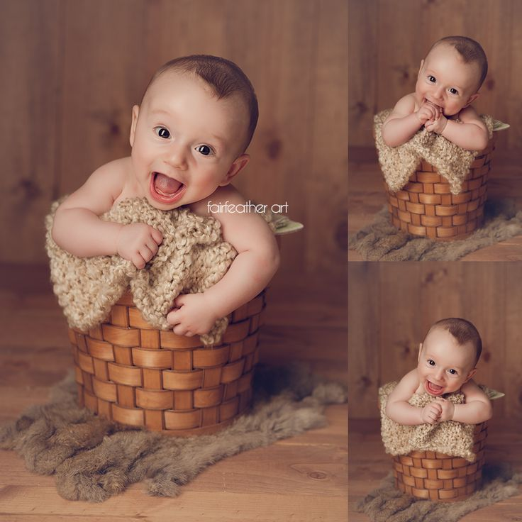 Moberly missouri baby photography 4 month cutie