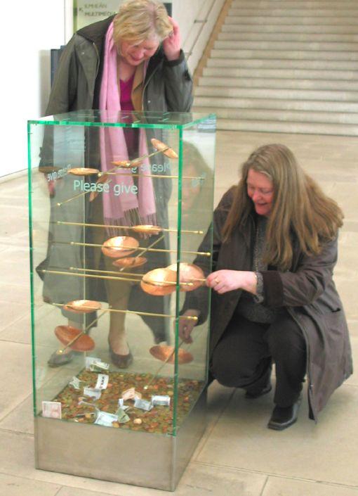 National Gallery of Ireland Donation Box