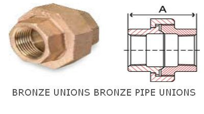 Bronze Unions Bronze pipe Unions Fittings Pipe Fittings #BronzeUnions #BronzepipeUnionsFittings  #PipeFittings We are manufacturers and exporters from India of all kinds of Bronze threaded pipe fittings. We have our own Bronze foundry, Copper foundry and non ferrous casting foundry where we cast and then CNC machine finest quality Bronze and Copper fittings. We specialize in Copper unions Bronze unions 3 piece Bronze unions socket unions for connecting 2 different pipes.