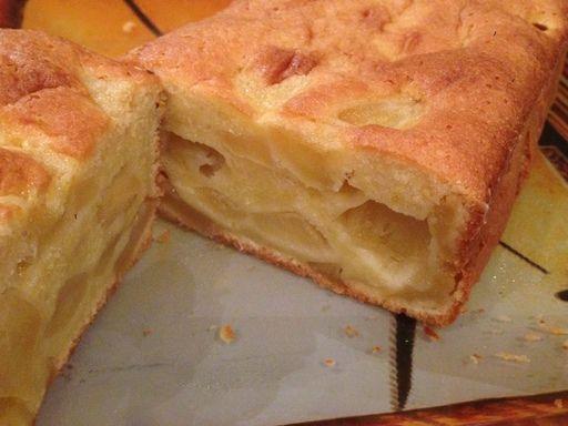 Fondant aux pommes caramélisées - Recette de cuisine Marmiton : une recette