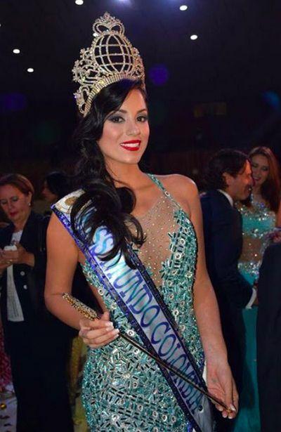 Maria Alejandra Lopes - Miss Mundo Colombia 2015