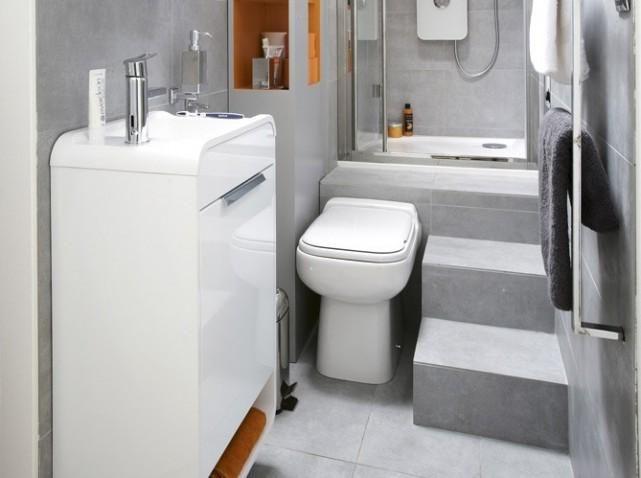 9 best Cuisines, petits espaces images on Pinterest Kitchens - amenagement de petite salle de bain